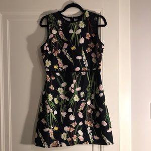 Victoria Beckham for Target Floral Dress, Size M